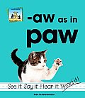 Aw as in Paw
