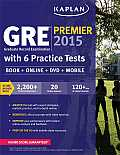 GRE Premium with 6 Practice Tests: Book + DVD + Online + Mobile [With CDROM] (Kaplan GRE Premier Program)