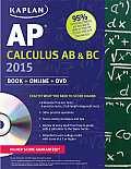 Kaplan AP Calculus AB & BC [With DVD] (Kaplan AP Calculus AB & BC)