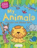 My Animals Activity and Sticker Book
