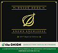 The Onion Book of Known Knowledge: A Definitive Encyclopaedia of Existing Information Cover