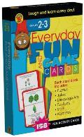 Everyday Fun and Game Cards, Grades 2-3