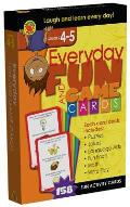 Everyday Fun and Game Cards Activity Cards, Grades 4 - 5