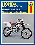 Honda Xr250l, Xr250r & Xr400r 1986 Thru 2004: 249cc, 397xx (Owners' Workshop Manual)