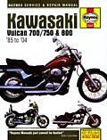 Kawasaki Vulcan 700/750 & 800: 1985-2004