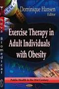 Exercise Therapy in Adult Individuals With Obesity