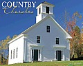 Country Churches Wall Calendar