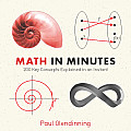 Math in Minutes (Knowledge in a Flash)