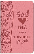 God Hearts Me New Life Bible for Girls-NM