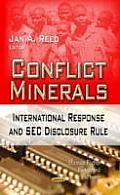 Conflict Minerals: International Response & Sec Disclosure Rule
