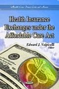 Health Insurance Exchanges Under the Affordable Care ACT