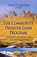 Community Disaster Loan Program: History, Analyses & Considerations
