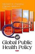 Global Public Health Policy