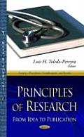 Principles of Research: From Idea To Publication