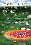Advances in Environmental Researchvolume 29