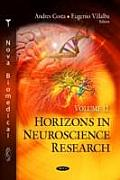 Horizons in Neuroscience Research: Volume 12