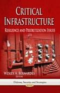 Critical Infrastructure: Resilience & Prioritization Issues