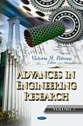 Advances in Engineering Research: Volume 7