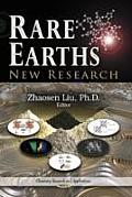 Rare Earths: New Research