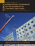 Proceedings of the 4th International Conference on the Durability of Concrete Structures