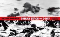 Omaha Beach on D Day June 6 1944...