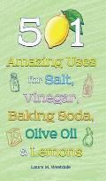 501 Amazing Uses for Salt, Vinegar, Baking Soda, Olive Oil & Lemons