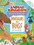 Animal Kingdom Sticker Activity Book: Dinosaurs and Bugs