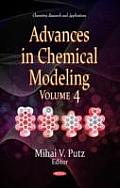 Advances in Chemical Modeling