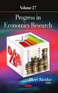 Progress in Economics Research: Volume 27