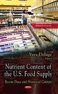 Nutrient Content of the U.S. Food Supply