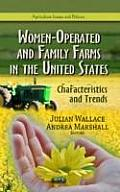 Women-Operated & Family Farms in the United States