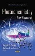 Photochemistry: New Research