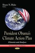President Obamas Climate Action Plan: Elements and Analyses
