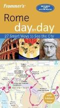 Frommer's Rome Day by Day [With Map]