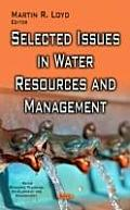 Selected Issues in Water Resources and Management