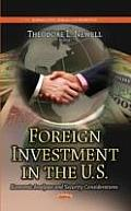 Foreign Investment in the U.S.