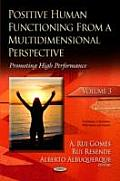 Positive Human Functioning from a Multidimensional Perspective Volume 3