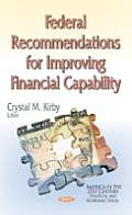 Federal Recommendations for Improving Financial Capability