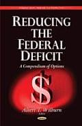 Reducing the Federal Deficit