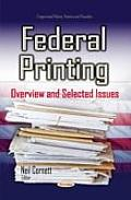 Federal Printing: Overview and Selected Issues