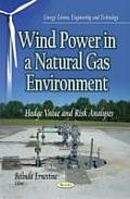 Wind Power in a Natural Gas Environment: Hedge Value and Risk Analyses