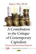 Contribution To the Critique of Contemporary Capitalism: Theoretical and International Perspectives
