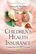 Children's Health Insurance: Comparisons of Chip Coverage