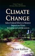 Climate Change: Select Federal Efforts To Monitor Impacts on Water Infrastructure and Resources