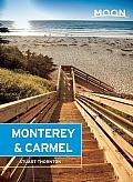 Moon Monterey & Carmel Including Santa Cruz & Big Sur