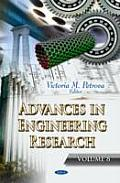 Advances in Engineering Researchvolume 8