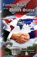 Foreign Policy of the United Statesvolume 7