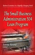 Small Business Administration 504 Loan Program