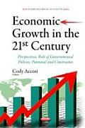 Economic Growth in the 21st Century