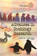 Advances in Sociology Researchvolume 15